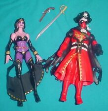 MARVEL LEGENDS LOT  PIRATE  DEADPOOL  SHIKLAH