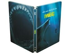 The Meg 3D+2D Limited Edition Steelbook /Region Free Blu Ray/ WORLDWIDE SHIPPING