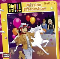 DIE DREI !!! - 037: MISSION PFERDESHOW  CD NEU