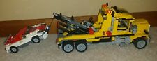 LEGO Highway Transport 6753 Yellow Semi Tow Truck & Car Fast Shipping