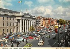Ireland, Dublin, General Post Office, O'Connell Street, Auto Cars 1972