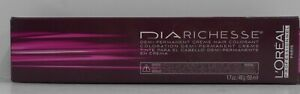 LOREAL DIARICHESSE Demi-Permanent Professional Hair Color Cream ~ 1.7 oz. Tube!!
