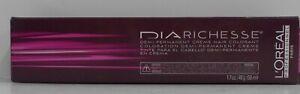 LOREAL DIARICHESSE Demi-Permanent Professional Hair Color Cream ~ 1.7 oz. Tube!!