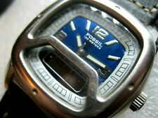 "Superb gents ""FOSSIL"" heave duty, diving watch, Day/Date/Alarm/,great condition."