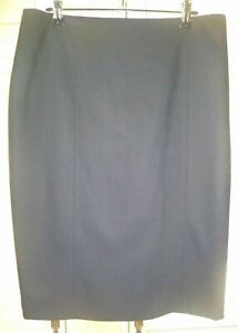 Table Eight  black fully lined pencil skirt size 10 corporate FREE POST