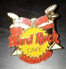 Hard Rock Cafe pin Amsterdam Red Drumset pre-corporate !