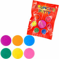 BOUNCING PUTTY BALL BOYS GIRLS LOOT PINATA BIRTHDAY PARTY BAG FILLERS
