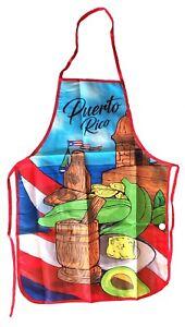 Puerto Rico ADULT KITCHEN Apron - Pilon MOFONGO - DELANTAR - SOUVENIR - RICAN