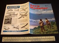 Vintage Aeromodeller Magazine (June 1973) Double Sided Plan in Place Unused