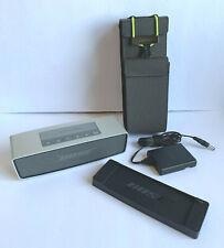 Bose Soundlink Mini Wireless Bluetooth Speaker w/all Accessories + Case