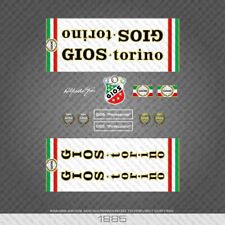 01885 Gios Professional White Bicycle Stickers - Decals - Transfers