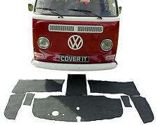 VW T2 Transporter spät Erkerfenster Teppich Komplettset Matten Kabel