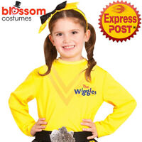 CK970 Deluxe Emma Yellow Shirt Top Wiggles Book Week Girls Kids Toddler Costume