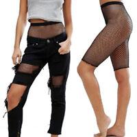 Sexy Fishnet Stocking Shorts Tights Pantyhose Mesh Pants Socks Lingerie Bl N uW