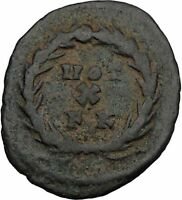 GALERIUS 303AD Carthage 10 Year Vows Authentic Ancient Roman Coin i45104