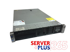 HP ProLiant DL380p G8 server, 2x 2.6 GHz Eight Core, 192 GB RAM, 2x trays
