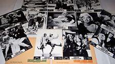 CERTAINS L' AIMENT CHAUD ! Marilyn Monroe jeu 12 photos cinema lobby cards