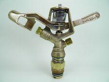 4 Pro Rebuilt Rain Bird #30H Dbl Nozzle Brass Impact Sprinklers Less Than $20Ea!