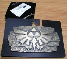 Belt Buckle Triforce Legend of Zelda Twilight Princess Nintendo Die Cast Metal