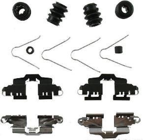 REAR Brake Pad Pin Clip Fitting Hardware Kit Fits LEXUS CT 200h CT200h 2010-2018