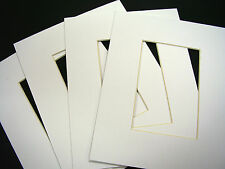 Picture Framing Mats Custom Order White assorted sizes per buyer
