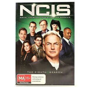 NCIS The Eighth Season 8 Series Eight Crime DVD R4 Good Condition