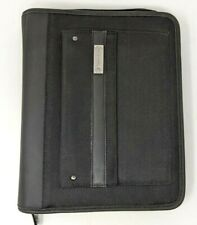 Franklin Covey Classic Size Binder 7 15 Rings Black Tactical Mesh Outer Pocket