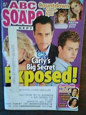 LOT OF 2 ABC SOAPS IN DEPTH JANUARY 2012 BEAUTIFUL MAGAZINES PHOTO'S/STORIES