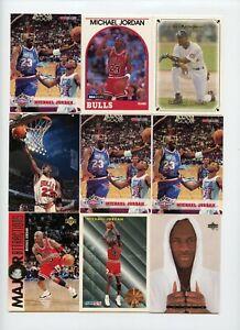 Lot Of (98) Michael Jordan Premium Base Cards Hoops Ionix Upper Deck Skybox +