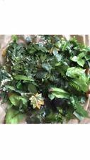100x Artificial Leaves Joblot Craft Leaf Fake Foliage Greenery Mix Shop Display