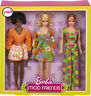 Gift Set 3 Dolls In Retro Fashion Looks Christie And Stacey Barbie Mod Friends