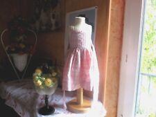 robe cyrillus 9 mois bretelles carreaux  tres mimi