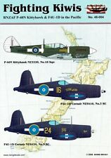 1/48 RISING DECALS 48-004; Fighting Kiwis P-40N Gloria Lyons, F4U-1D TUTAE WERA