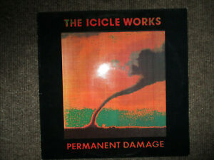 +THE ICICLE WORKS     Vinyl LP Album    Permanent damage    (Indie, 1980)