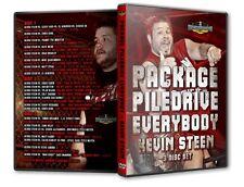 Kevin Steen Piledrive Everyone DVD Set, WWE Wrestling NXT Owens PWG ROH CZW IWA
