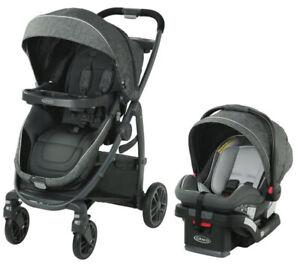 Graco Baby Modes BassinetTravel System Stroller w/ Infant Car Seat Wynton NEW