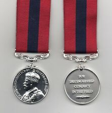 THE DISTINGUISHED CONDUCT MEDAL. GEO.V. CROWNED HEAD TYPE - A SUPERB REPLICA