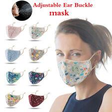 Fashion Floral Face Mask Cover Protection Face Masks Reusable Washable Unisex