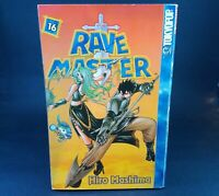 Rave Master Volume 16 Hiro Mashima TokyoPop Book English Version Manga Anime