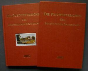 Jahrbuch 2002 im Schuber - mit postfrischen Briefmarken des Jahrgangs, kompl. **