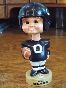 Vintage 1974 Chicago Bears Football Bobblehead Nodder - Sports Specialties Corp