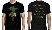 NILE cd cvr THE BLESSED DEAD Official SHIRT MED New in their darkened shrines