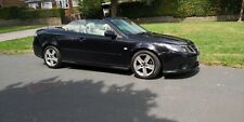 Saab 9-3 1.9 TiD  150BHP - Vector 2dr Automatic Convertible in Black. 80k miles