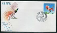 FIRST DAY COVER.... Birds on Stamps.  PNG  1984 5K bird of paradise