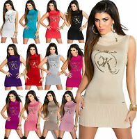 New Sexy Women Clubbing Jumper Dress Pullover Ladies Sweater Top Size 6 8 10 12
