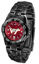 Virginia Tech Hokies Ladies Women AnoChrome Fantom Black Sport Watch