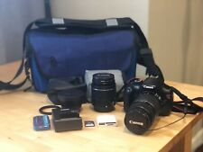 Canon EOS Rebel T7 24.1 MP Digital SLR Camera with 3 Sizes of Lens & Case BUNDLE