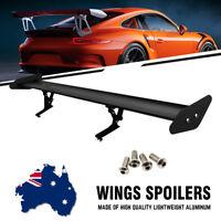 "110cm/43.3"" Universal Car GT Lightweight GT Rear Spoiler Wing Racing Truck Black"