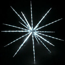 100 cm WIDE WHITE  3D Star christmas LIGHT Decoration RRP £130