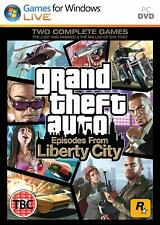 Grand Theft Auto Episodes From Liberty City PC NEW And Sealed FULL UK Version